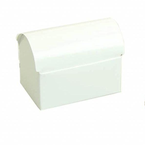 Schatzkiste  - glänzend Weiß - 25 Stück