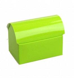 Treasure chest - glossy green