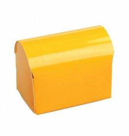 Schatkistje - glanzend oranje