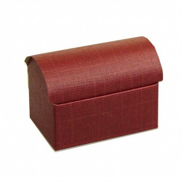 Treasure chest  reliëf - Bordeaux - 10 pieces
