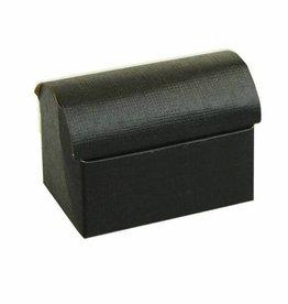 Treasure chest reliëf - black