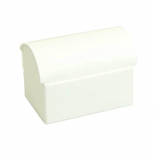 Baúl del tesoro  reliëf - blanco - 10 unidades