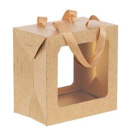 Easter egg box Angeline  - gold kraft