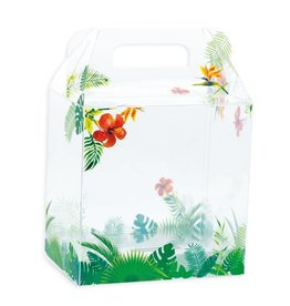 Transparent Tropicale Easter egg box