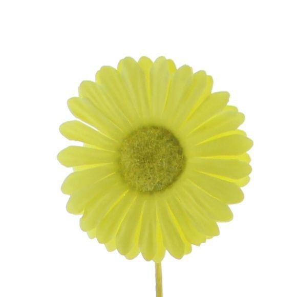 Blume Germini - 65mm - Zitrone - 96 Stück