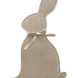 Velvet Bunny Sleeve - Taupe