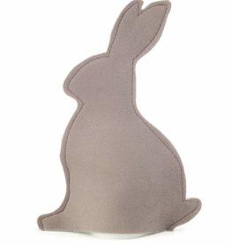 Velvet Bunny Eierwärmer - Taupe