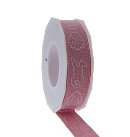 "Rabbit ""Breda"" ribbon - pink"