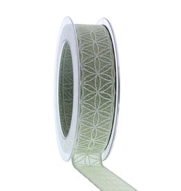 Rhodos ribbon - Smokey green