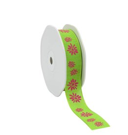"Naturel""Spring Flowers""Ribbon - Apple"