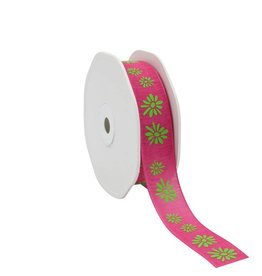 "Naturel""Spring Flowers""Ribbon - Pink"
