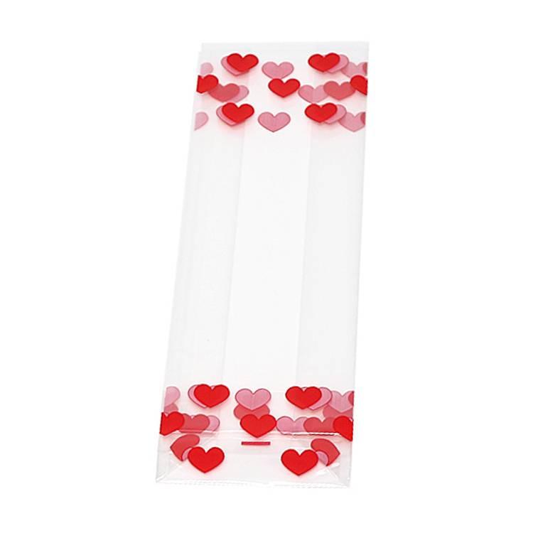 Blokbodemzakjes 40 µm Valentijn  - 1000 stuks