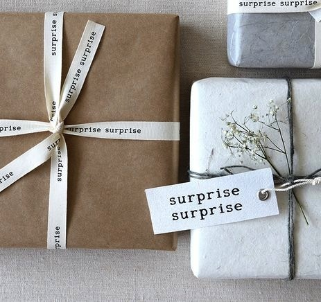 Surprise surprise ribbon - black