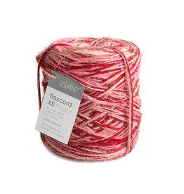 Flax cord XS Tricolor - Azaléa