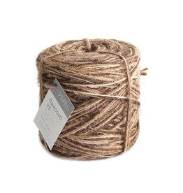 Flax cord XS Tricolor - Braun