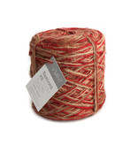 Flax cord XS Tricolor - Rot