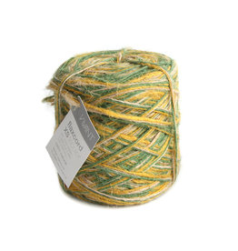 Flax cord XS Tricolor - Spring green