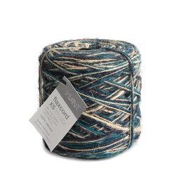 Flax cord XS Tricolor - Dunkelblau