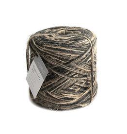 Flax cord XS Tricolor - Schwarz