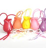 Anhänger Tulpen - Sortiment von 4 Farben - 50 Stück