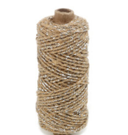 Flax cord deluxe - argent