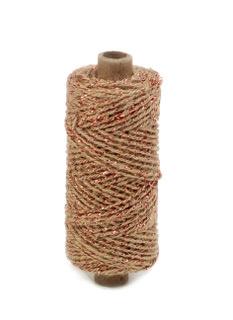 Flax cord deluxe - Kupfer - Ø 2 mm - 50 meter