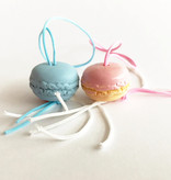 Lucky pendant macaroons - 20 mm - 50 pieces