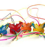 Lucky pendant butterflies - 20 mm - 50 pieces