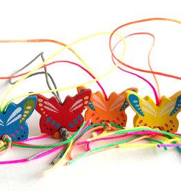 Lucky pendant butterflies