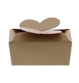 Mini ballotin pour 2 pralines - Kraft