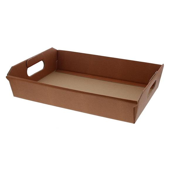 Korb Dessert - Terrakotta - 350*260*70 mm - 10 Stück