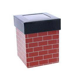 """Schoorsteen  """"Brick"""" doos met vensterdeksel"""