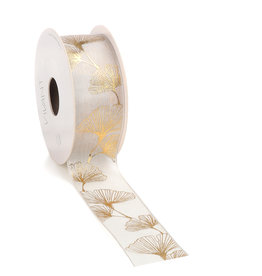 Ginkgo ribbon - cream