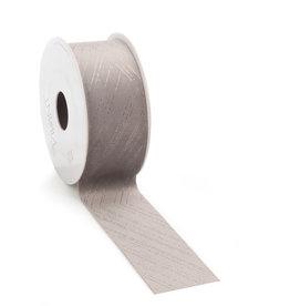 Velvet Nura ribbon - Taupe