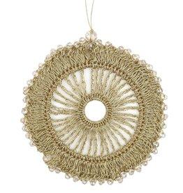 Bellizzi deco hanger  Handmade - Gold