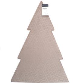 Velvet Pine Sleeve - Taupe