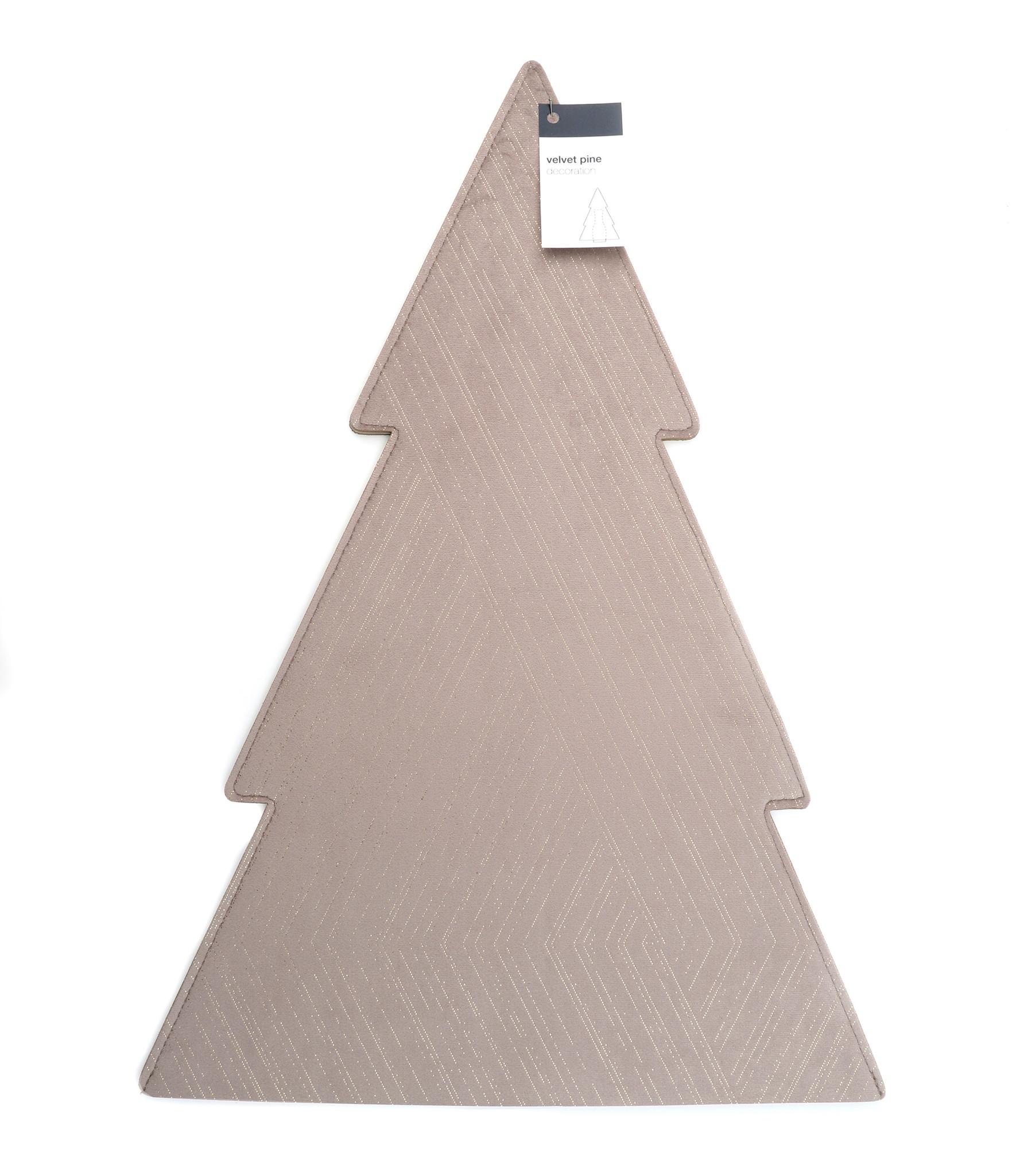 Velvet Pine Sleeve - Taupe - 320*460 mm - 6 Stück