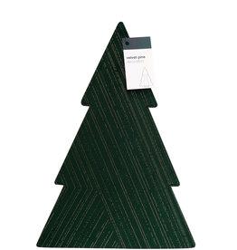 Velvet Pine Sleeve - dark green