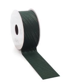 Velvet Nura ribbon - dark green