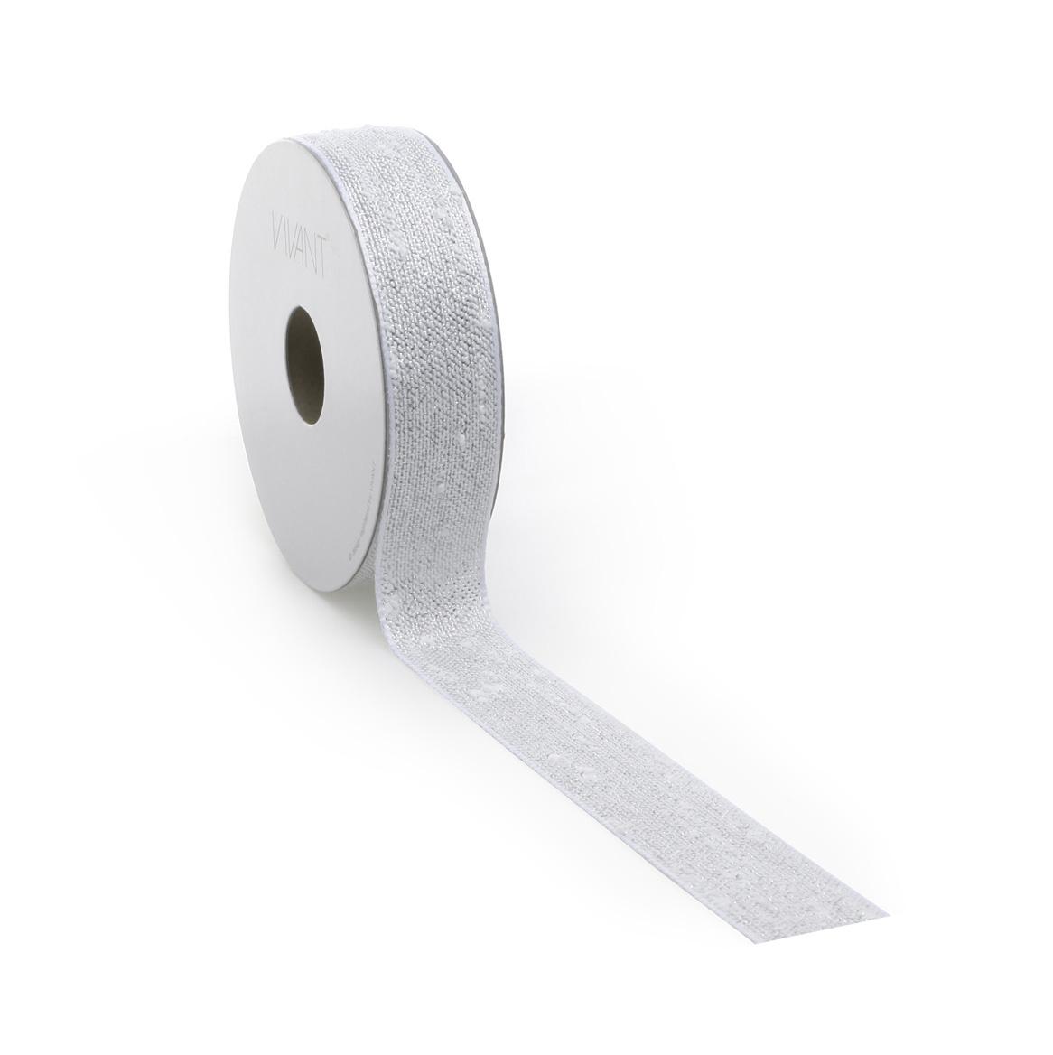 Bouclé Lurex lint - Ice Silver