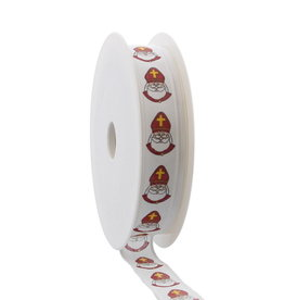 """Sint""  ribbon - white"