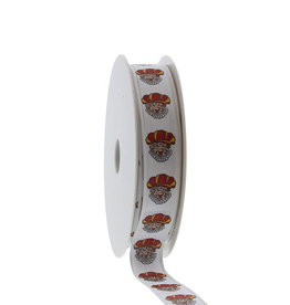 """Peter""  ribbon - white"