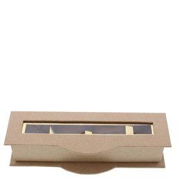 Clear window box4 pralines kraft