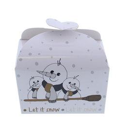 "Butterfly Box Snowman ""Broomy"" 500 grams"