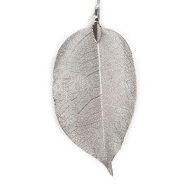 Leava deco chain Handmade - Silver
