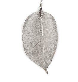 Leava deco hanger  Handmade - Silver