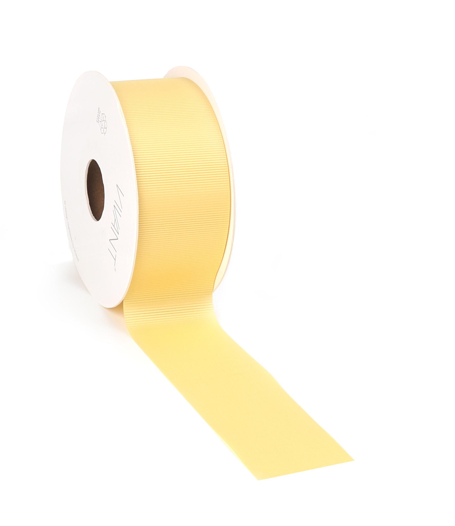 Gigi Ruban - jaune claire