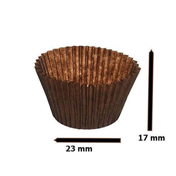 Candy cups Nr 3 black - 1000 pieces