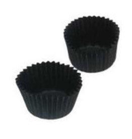 Cuvetten (caisses) zwart  Nr 4 - verpakt per 1000 stuks