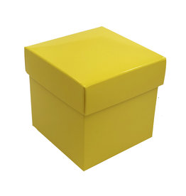 Cubic Boxes shiny yellow